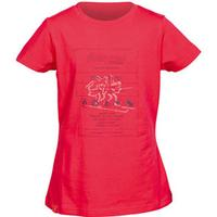 Bergans Care Label Girl Tee dark watermelon 140/10