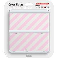 Nintendo Cover Plate 14 - Pink Strip Design (New Nintendo 3DS)