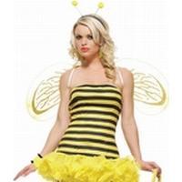 Leg Avenue - Ruffled Bumble Bee - X-Small (841225041)