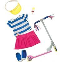 Our Generation tøjsæt med løbehjul