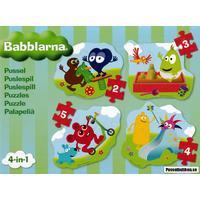 Tilda: Babblarna 4-in-1 (2, 3, 4, 5)