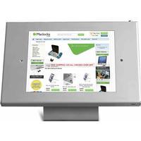 Maclocks - Lås och ställbar hållare (iPad) - Silver (öppen hem-knapp)