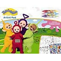 Teletubbies Col and Act Placemats, White