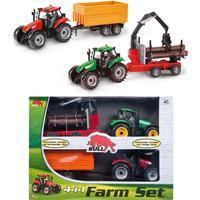 Bull Tractor Set 4pcs