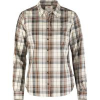 Fjällräven Övik Flannel Shirt Chalk White
