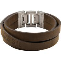 Fossil Vintage Casual Leather Bracelet (JF84955040)