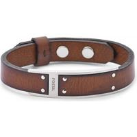 Fossil Vintage Casual Leather Bracelet (JF01340040)