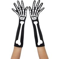 Smiffys Skeleton Gloves
