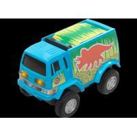 FLEXI-TRAX Adventure bil, Blå triceratops