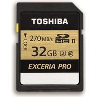 Toshiba Exceria Pro N501 SDXC Class 10 UHS-II U3 270MB/s 32GB