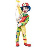 Clown maskeraddräkt - Ålder 2-4 år