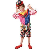 Clownpojke maskeraddräkt för barn