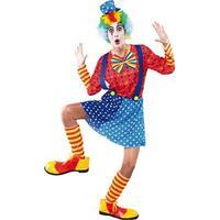 Blå clown maskeraddräkt&nbsp - Onesize