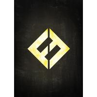 Displate Concrete & Gold Foo Fighters 32x45cm Affisch