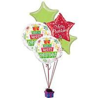 Bouquet of Christmas Balloons
