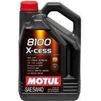 Motul Motul 8100 X-cess 5W-40 5 Liter Kanister Motorolja