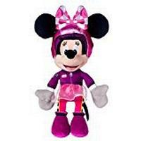 Disney Minnie In Racing Outfit Soft Toy, 10""