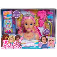 Flair Barbie Dreamtopia Rainbow Styling Head Large