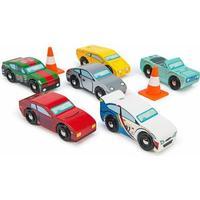 Le Toy Van Träbilar - 6 bilar - Montecarlo Sports Cars - Le Toy Van