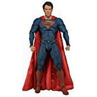 NECA DC Comics 1:4 Scale Man of Steel Toy Collectable - Superman 18 Inch Deluxe Action Figure