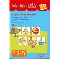 WESTERMANN Bambino Konzentrationsspiele 2 børnebog, bog til indlæring skolebog