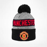 New Era Manchester United Marl Crown Bobble Beanie
