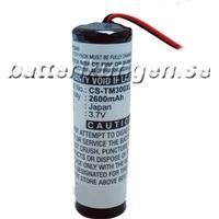 Batteri till TomTom Go 300 / 400 mfl - 2.600 mAh