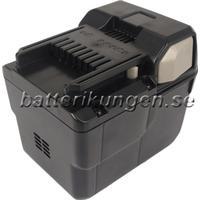 Batterikungen Batteri till Hitachi 36DAL mfl - 3.000 mAh