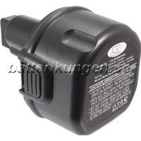 Batterikungen Batteri till Dewalt DC750KA mfl - 1.500 mAh