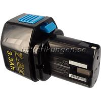 Batterikungen Batteri till Hitachi NR90GC2 mfl - 3.300 mAh