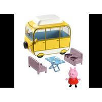 Peppa Pig GURLI GRIS autocamper, MUMMY PIG W/ PEPPA(RED DRESS)