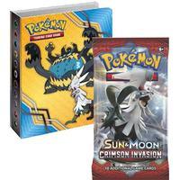 Pokémon, SM Crimson Invasion, Collector's album (Mini-pärm + 1 booster)