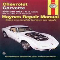 Chevrolet Corvette, 1968-1982: All V8 Models, 305, 327, 350, 427, 454 (Häftad, 1999)