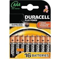 Duracell Plus Power AAA 16-pack