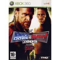 WWE Smackdown vs Raw 2009 - Classics - Xbox 360 (used)