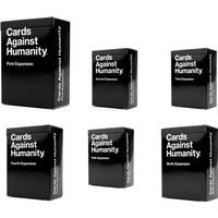 Cards against humanity us expansions 1-6 (skadad box)