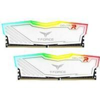 Team Delta RGB Series White DDR4 3000MHz 2x8GB (TF4D416G3000HC16CDC01)