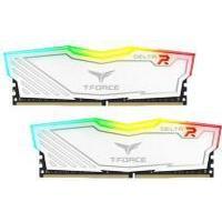 Team Delta RGB Series White DDR4 3000MHz 2x8GB (TF4D416G3000HC16CDC01)
