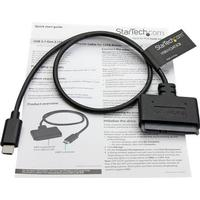 "StarTech.com USB 3.1 Gen 2 Adapter Cable for 2.5"" SATA Drives - with USB-C - lagringskontrol - SATA 6Gb/s - USB 3.1 (Gen 2)"