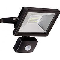 HQ LED udendørs projektør m/sensor 20W (1650lm) Sort - Goobay