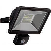 HQ LED udendørs projektør m/sensor 30W (2500lm) Sort - Goobay