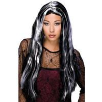 "Rubies 24"" Streaked Witch Wig"