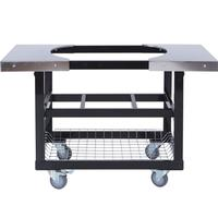 Primo Cart Basket with Stainless Steel Side Shelves for Oval LG 300 & XL 400