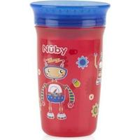 Nuby 360 Mini Handled Cup - Red