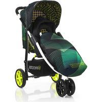 Koochi Pushmatic Stroller Green Hyperwave