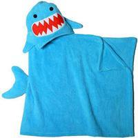 Zoocchini Kids Hooded Towel - Sherman the Shark