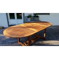 Eden Wood Wilson 160-220x100cm Matbord