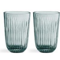 Kähler Hammershøi Tumbler glas 33 cl 2 stk