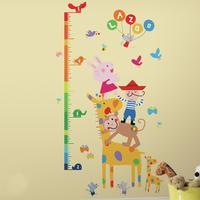 RoomMates Väggdekor Lazoo Stickers Mätsticka