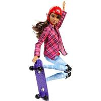 Barbie Made To Move Skater Dukke